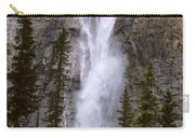 Splendor Of Takakkaw Falls Carry-all Pouch