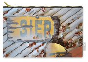 Splintered Signage Carry-all Pouch