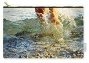 Splish Splash Carry-all Pouch by Heiko Koehrer-Wagner