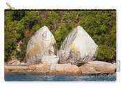 Split Apple Rock Near Abel Tasman Np In New Zealand Carry-all Pouch
