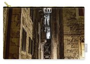 Split Cathedral From The Temple Of Jupiter At Night Croatia Carry-all Pouch