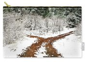 Split Decision Carry-all Pouch by Marilyn Hunt