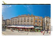 Split Historic Square Panoramic View Carry-all Pouch
