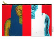 Split Personality Carry-all Pouch by Patrick J Murphy