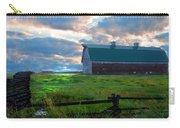 Split Rail Fence Barn Carry-all Pouch