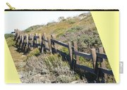 Split Rail Fence Yellow Carry-all Pouch