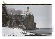 Split Rock Lighthouse Winter 19 Carry-all Pouch