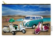 Splitty Vw Beetle And Scooters Carry-all Pouch