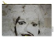 Spoiled Portrait In The Wall Carry-all Pouch