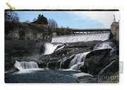Spokane Falls At Low Tide Carry-all Pouch