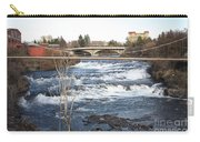 Spokane Falls In Winter Carry-all Pouch