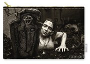 Zombie Lady Sepia Carry-all Pouch