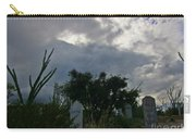 Spooky Boot Hill Cemetery Carry-all Pouch