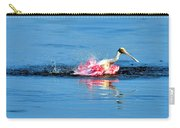 Spoonbill Bath Time  Carry-all Pouch
