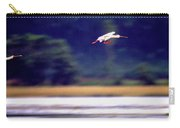 Spoonbill Blur Carry-all Pouch
