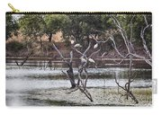 Spoonbill Gathering Carry-all Pouch