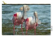 Spoonbills At The Shore Carry-all Pouch