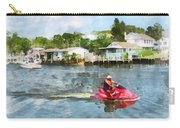 Sports - Man On Jet Ski Carry-all Pouch