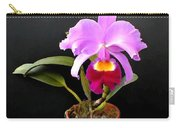 Spotlight On Purple Potted Cattleya Orchid Carry-all Pouch