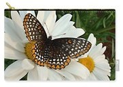 Spotted Butterfly Carry-all Pouch