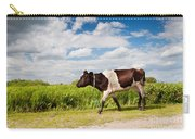 Calf Walking In Natural Landscape  Carry-all Pouch