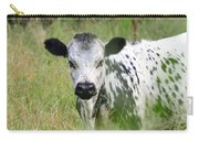 Spotted Cow In The Forest Carry-all Pouch