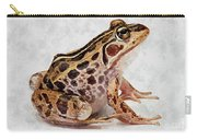 Spotted Dart Frog Carry-all Pouch