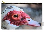 Spotted Feathers Carry-all Pouch