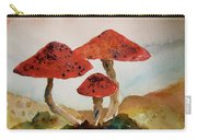 Spotted Mushrooms Carry-all Pouch