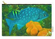 Spotted Surgeon Fish Carry-all Pouch