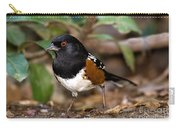 Spotted Towhee Pipilo Maculatus Carry-all Pouch