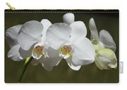 Spray Of Beautiful White Orchids Carry-all Pouch