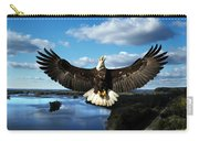 Spread Eagle  Mississippi River Carry-all Pouch