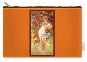 Spring Carry-all Pouch by Alphonse Maria Mucha