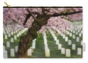 Spring Arives At Arlington National Cemetery Carry-all Pouch