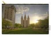 Spring At Temple Square Carry-all Pouch