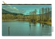 Spring At The Nicomen Slough Carry-all Pouch