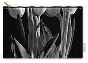 Spring Beauties Bw Carry-all Pouch