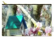 Spring - Birdhouse In Magnolia Carry-all Pouch