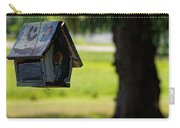 Spring Birdhouse Carry-all Pouch