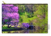Spring Blossoms On Lake Marmo Carry-all Pouch