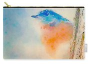 Spring Blues - Digital Watercolor Carry-all Pouch
