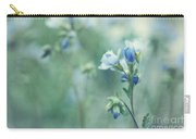 Spring Blues Carry-all Pouch by Priska Wettstein