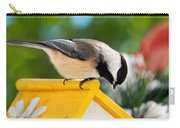 Spring Chickadee Carry-all Pouch