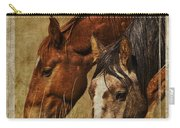Spring Creek Basin Wild Horses Carry-all Pouch