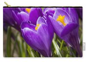 Spring Crocus Bloom Carry-all Pouch
