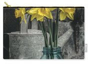 Spring Daffodil Flowers Carry-all Pouch by Edward Fielding