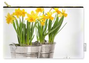 Spring Daffodils Carry-all Pouch by Amanda Elwell