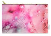 Spring - Dandelion With Water Droplets Abstract Carry-all Pouch