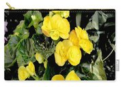 Spring Delight In Yellow Carry-all Pouch